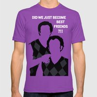 Step Brothers Mens Fitted Tee Ultraviolet SMALL