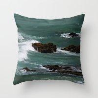 Praia Do Castelejo, Port… Throw Pillow