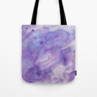 Purple Square Tote Bag