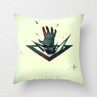 LivingDead Throw Pillow