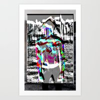 Urban Boy 2  Art Print