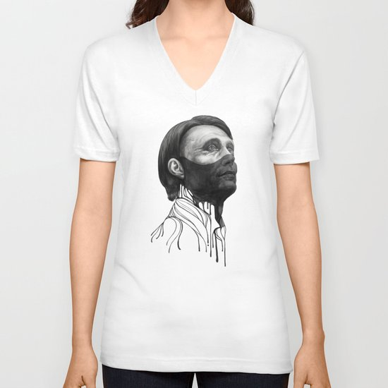 Hannibal Lecter V-neck T-shirt