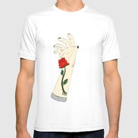 To Bloom from a Memory Mens Fitted Tee White SMALL