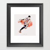 Jeremy Lin Framed Art Print