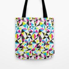 watercolor geometry CMYK Tote Bag