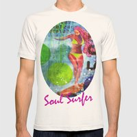Soul Surfer I Mens Fitted Tee Natural SMALL