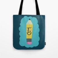 FRIENDLY PENCIL Tote Bag