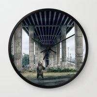 Bear sighting Wall Clock