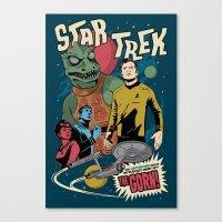 Star Trekk Canvas Print