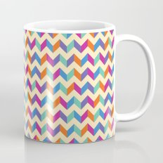 Coloured Chevron Mug