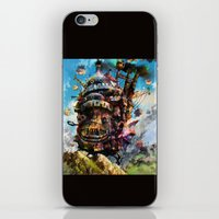 Howl's Moving Castle iPhone & iPod Skin