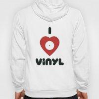 I Heart Vinyl Hoody