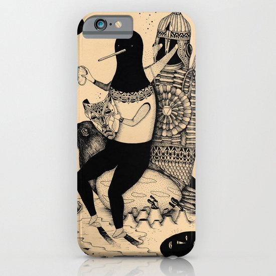 The Thief, The Poet and The Warrior iPhone & iPod Case