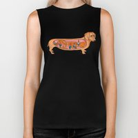 Secrets Of The Dachshund… Biker Tank