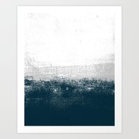 Ocean No. 1 - Minimal Oc… Art Print