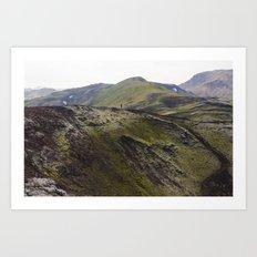 ICELAND V Art Print