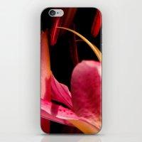 lone lily iPhone & iPod Skin