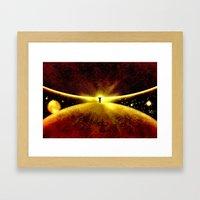ATLAS - 225 Framed Art Print