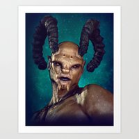 Male Demon Art Print