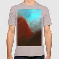 Mountains - Free Shippin… Mens Fitted Tee Cinder SMALL