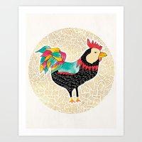 Key West Cuckaroo Art Print