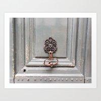 Paris Apartment Art Print