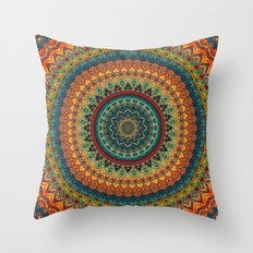 Mandala 198 Throw Pillow
