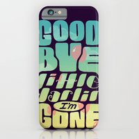 iPhone & iPod Case featuring Goodbye by Sarajea