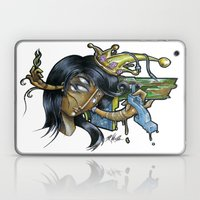 - Black Music Queen - Mr.Klevra Laptop & iPad Skin
