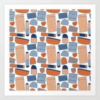 Pattern Project #39 / St… Art Print