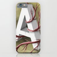"""iPhone & iPod Case featuring """"A"""" by Jacques Marcotte"""