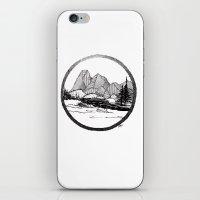 Enjoy the mountains iPhone & iPod Skin