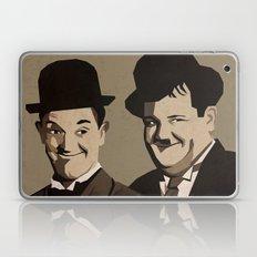 Laurel and Hardy Laptop & iPad Skin