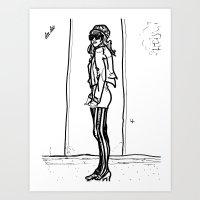 DeeDee Art Print