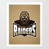 Tusken City Raiders - Ta… Art Print