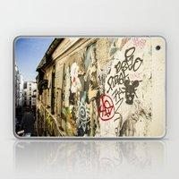 Montmartre Street Art 1 Laptop & iPad Skin
