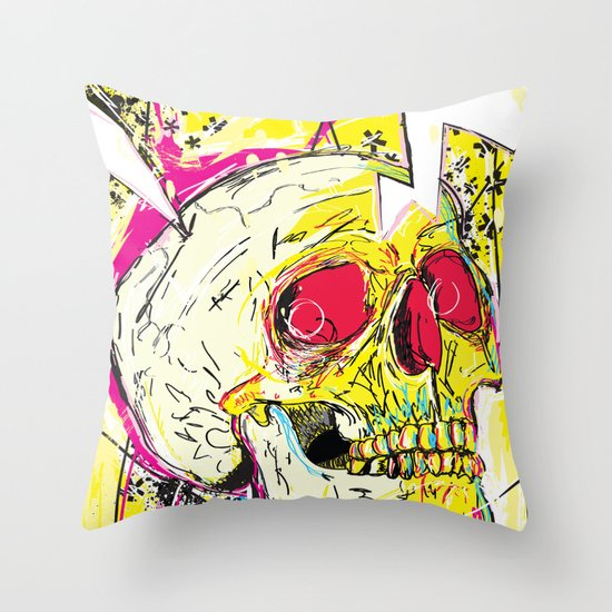 Ain't No Grave Throw Pillow