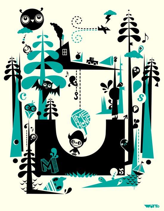 Time Alone Art Print
