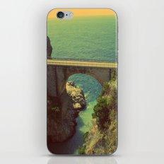 Bridge in Amalfi Coast, Italy iPhone & iPod Skin