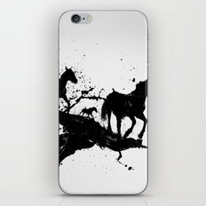 Liquid horses iPhone & iPod Skin
