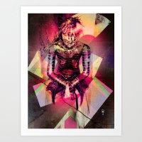 Dissolved Girl Art Print