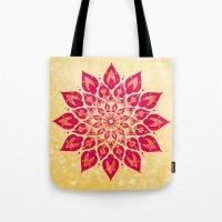 Mandala Savasana Tote Bag