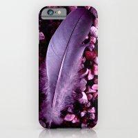 Purple Feather Macro XXI iPhone 6 Slim Case