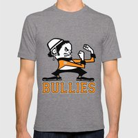 Bullies Of Broad Street  Mens Fitted Tee Tri-Grey SMALL