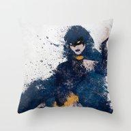 Dark Origins Throw Pillow