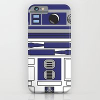 iPhone & iPod Case featuring R2D2 - Starwars by Alex Patterson AKA frigopie76