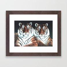 The Boys painting Framed Art Print