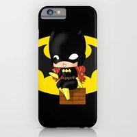 iPhone & iPod Case featuring Chibi Batgirl by artwaste