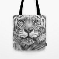 White Tigress  G2013-071 Tote Bag
