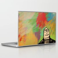 Laptop & iPad Skin featuring Norman by Lee Grace Illustration